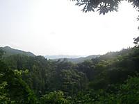 山また山の連なる景色