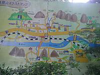 大きな矢祭山公園案内絵図