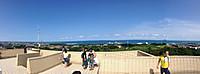 屋上からのパノラマ写真