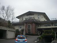 切妻屋根の洋館