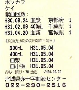 4/20血漿