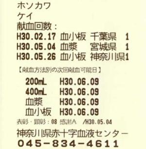 神奈川県:血小板